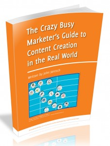 Crazy Busy Marketers Cover